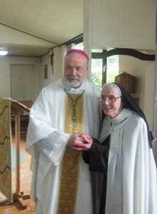 Sr Catherine -Platinum Jubilee of Profession